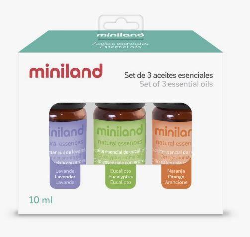 Set de aromas para humidificador miniland natural sleeper