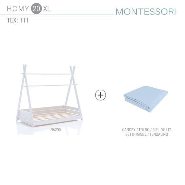 Pack cama Montessori HOMYXL 2 tamaños 20