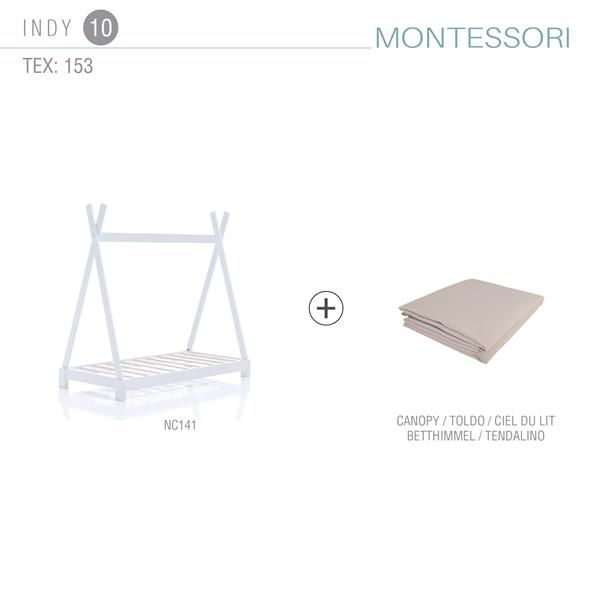 Pack cama Montessori INDY 1 tamaño – 70×140 10
