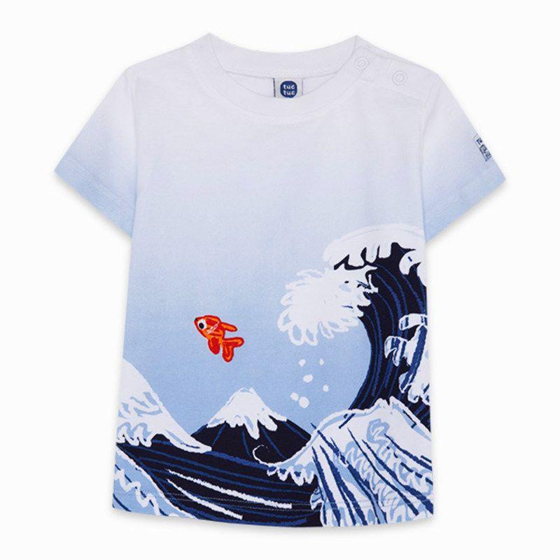 Camiseta punto t-shirt tuc-tuc