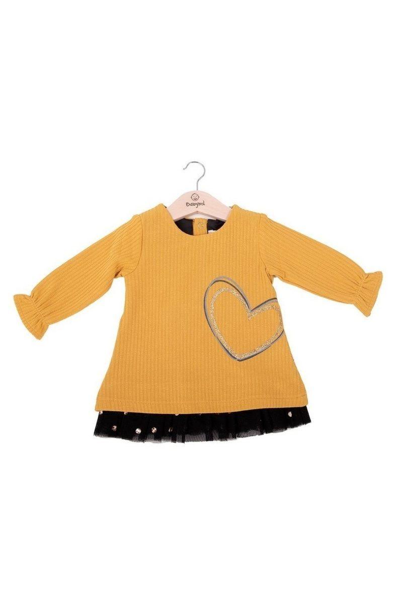 Vestido fantasía corazón 21134 babybol